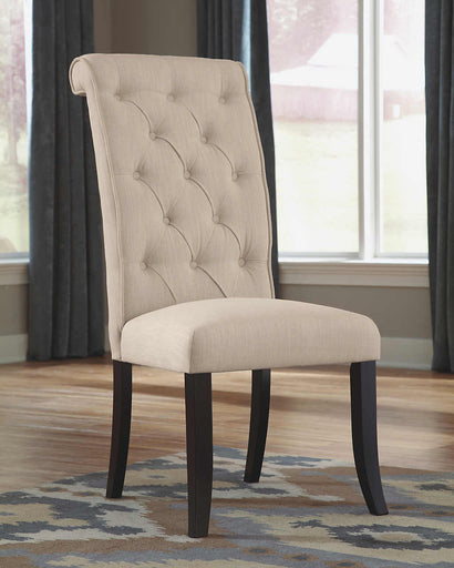 Tripton Side Chair - Linen