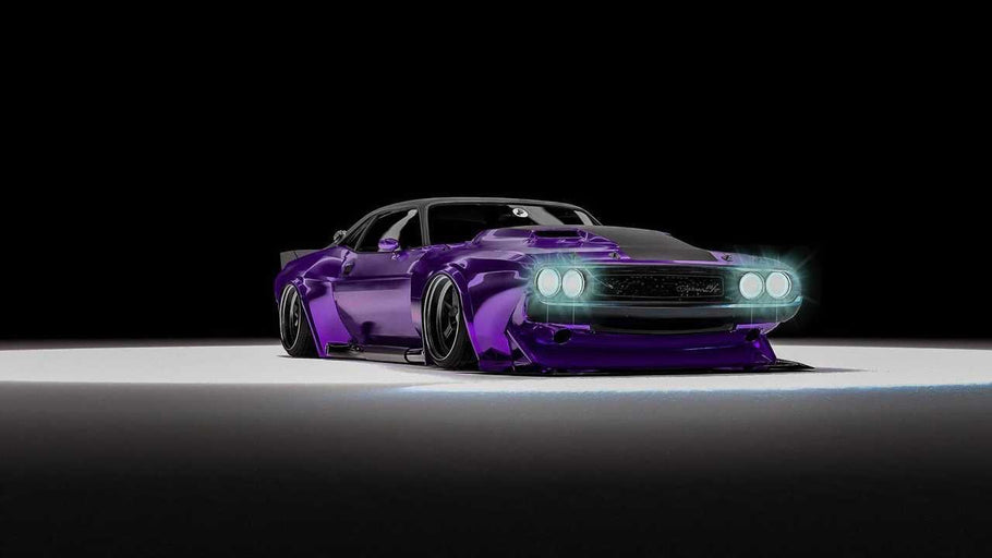 Deep Purple 1970 Challenger SEMA Build