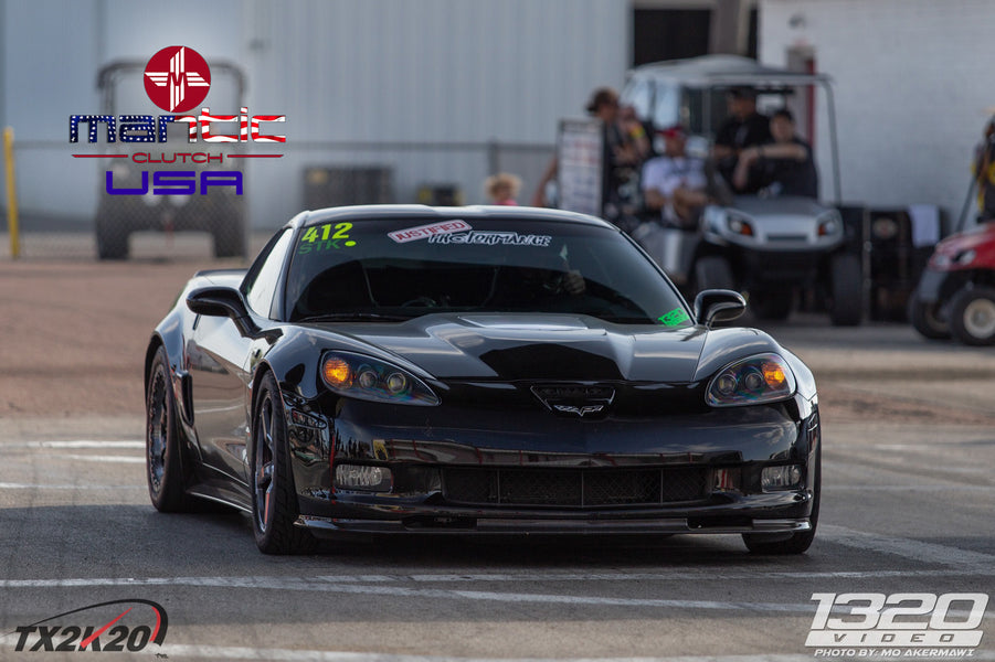 900+ HP C6 Corvette ZR1 uses Mantic Triple Disc Clutch
