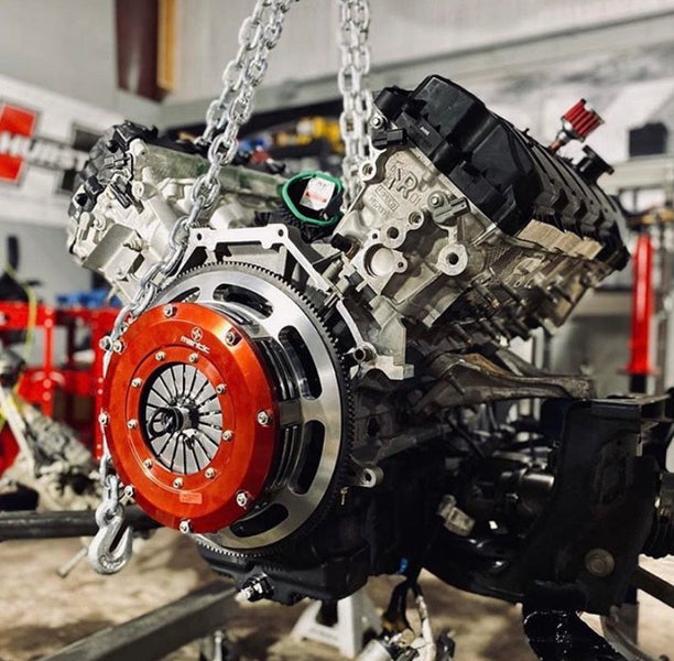 1500HP Shelby GT350 Build uses Mantic Clutch Kit