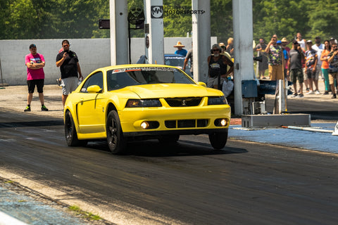 1000hp Mustang Cobra Wheelie is Mantic Clutch Equipped