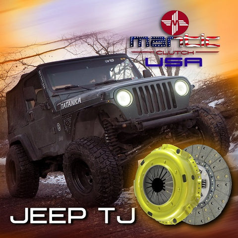 Mantic Jeep TJ Clutch 4WD2294 Single Disc