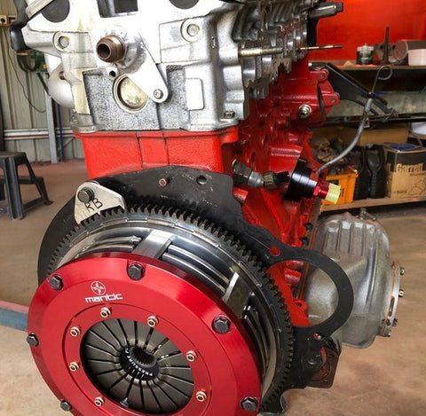Mantic Datsun 510 Twin Disc Clutch Installed Nissan RB