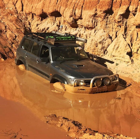 Nissan Patrol Off-Road Ford Barra Swap with Mantic Twin Disc Clutch