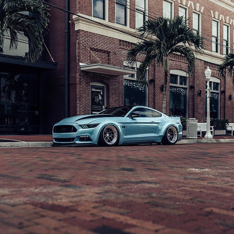 Wakey Twin Turbo S550 Mustang GT Build Mantic Clutch USA