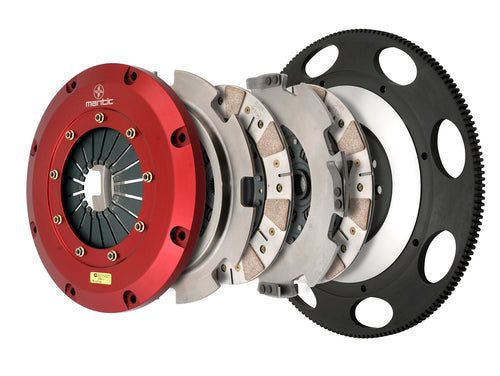 Twin Disc Clutch C6 Corvette Z06 - Ceremetallic (White Box)