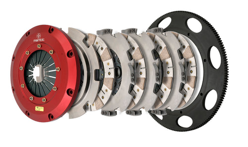 Quad Disc Clutch C6 Corvette Z06 - Ceremetallic