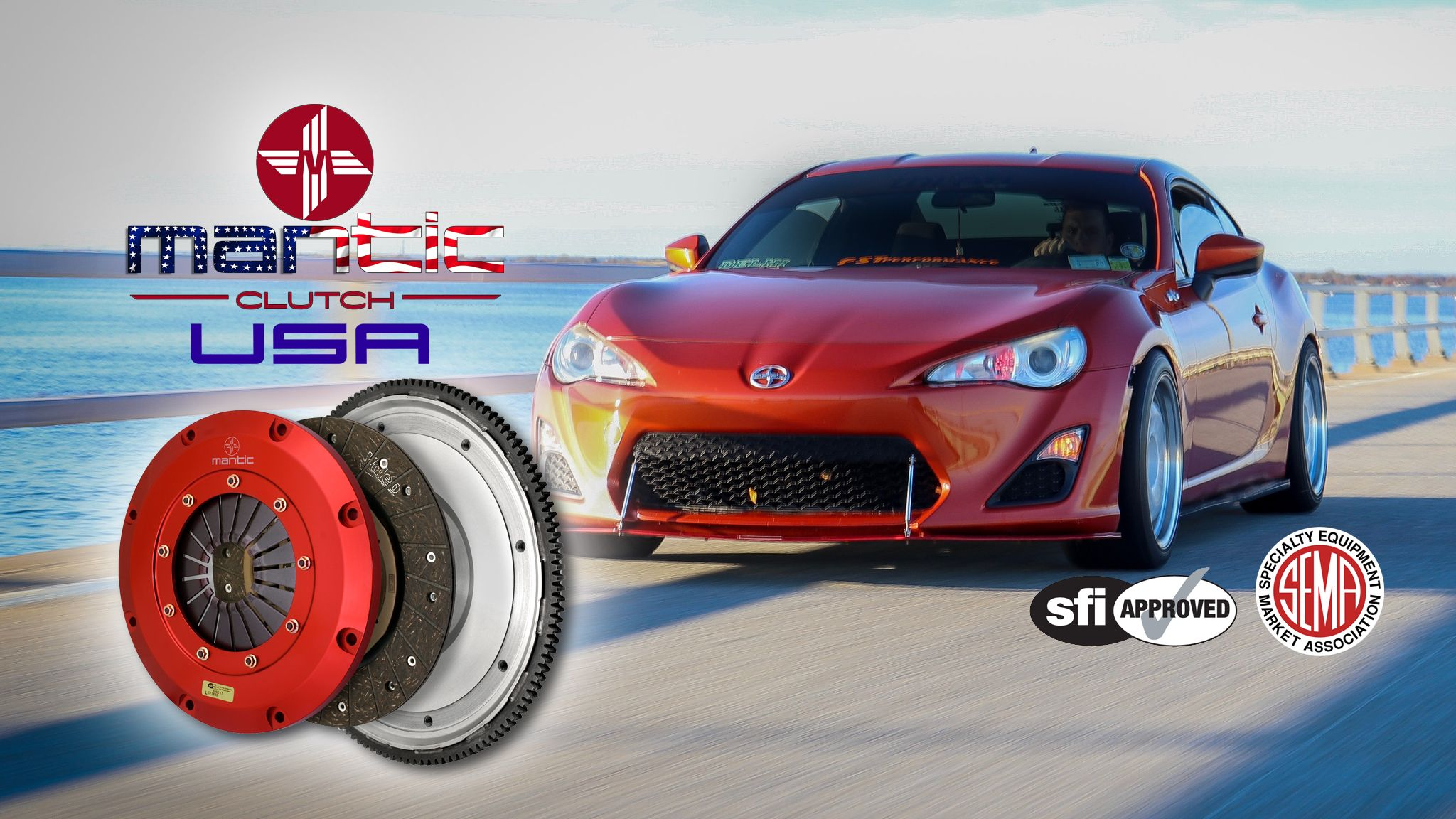 NEW Mantic Subaru BRZ Scion FRS Clutch Kits
