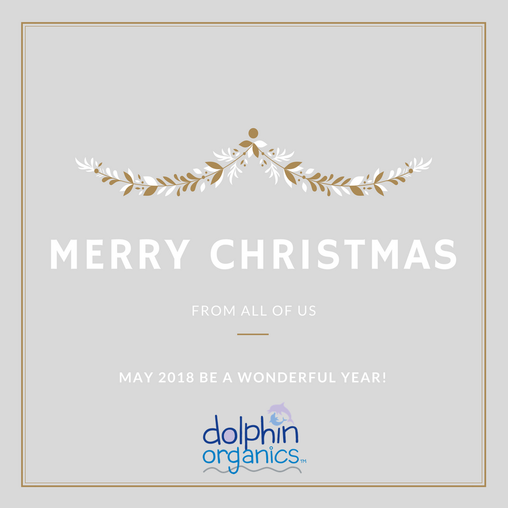 Merry Christmas from Dolphin Organics!
