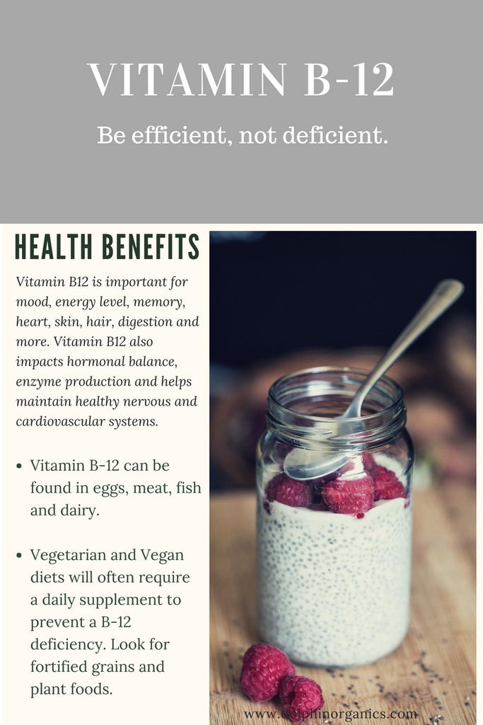 The Health Benefits of Vitamin B-12