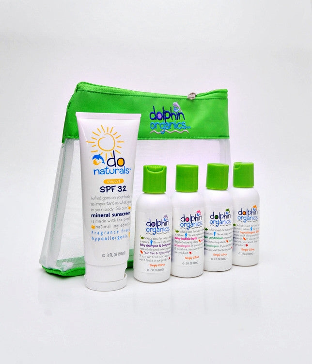 Deluxe Travel Set Simply Citrus