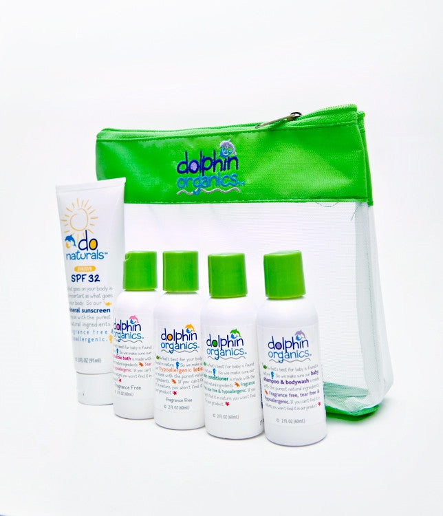 Deluxe Travel Set Fragrance Free