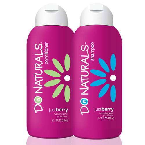 DO Naturals Just Berry Shampoo and Conditioner Bundle
