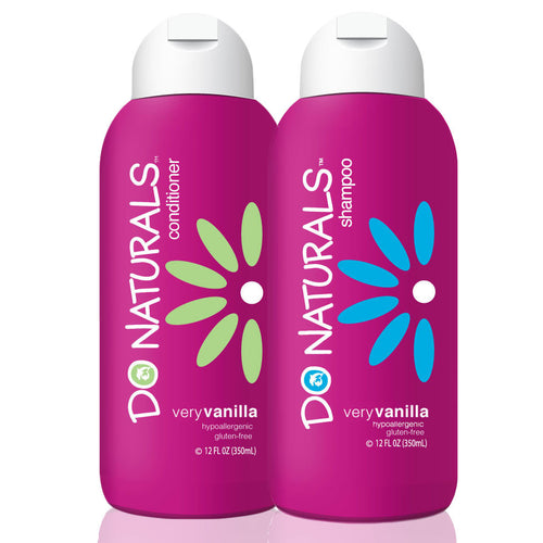 DO Naturals Very Vanilla Shampoo and Conditioner Bundle