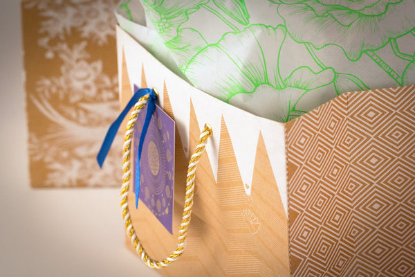 Gift wrap: too beautiful to throw away