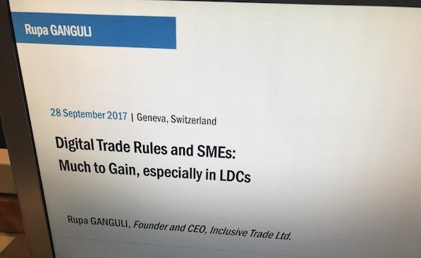 Digital Trade Rules & SMEs: Much to Gain