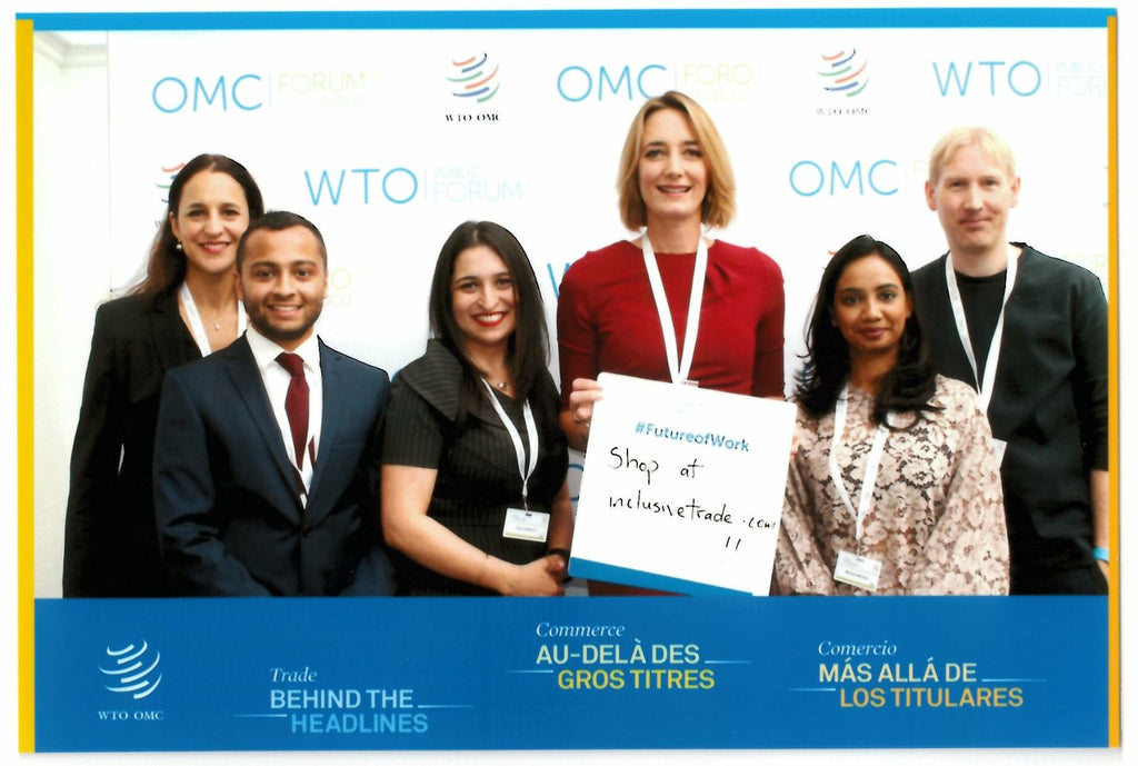 Spinna at the WTO PUBLIC FORUM 2017