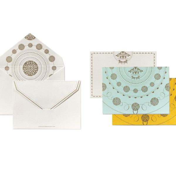 Royalty Design Note Set (12 x Note Card + Envelopes) - [product-type] - Inclusive Trade