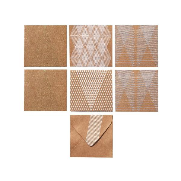 Mini Note Set, With Envelopes, Lyra Design, (Set of 12) - [product-type] - Inclusive Trade