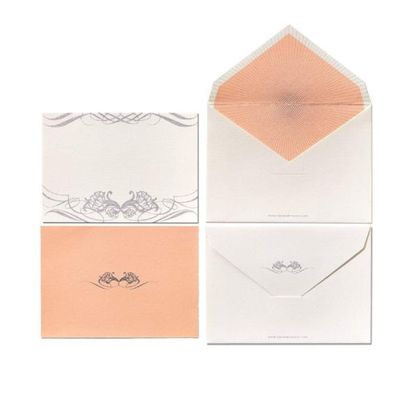 Simply Sophisticated Design Note Set (12 x Note Card + Envelopes) - [product-type] - Inclusive Trade