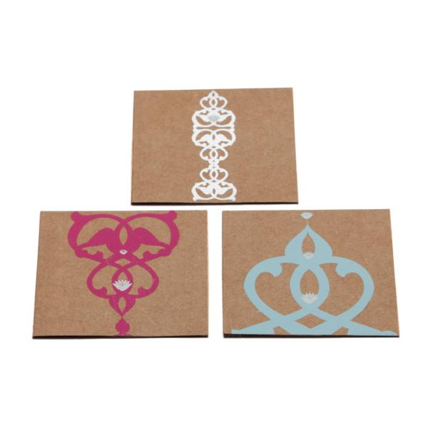Mini Note Set, With Envelopes, Imaan Bright Design,  (Set of 12) - [product-type] - Inclusive Trade