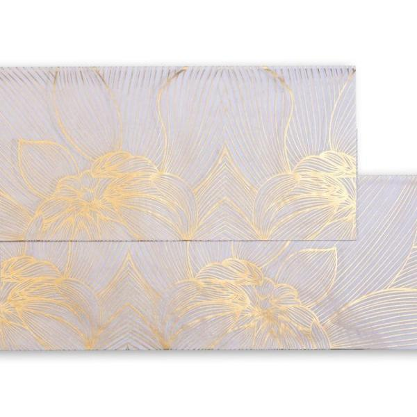 Gift Tissue, Flower Power Design, Silk Screened (Set of 2 Sheets) - [product-type] - Inclusive Trade