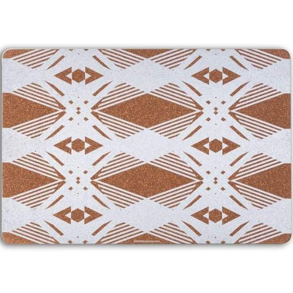 Cork Table Mat, Geometric (Set of 6) - [product-type] - Inclusive Trade