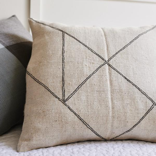 Cushion cover - Himalayan Nettle Tangram - [product-type] - Inclusive Trade