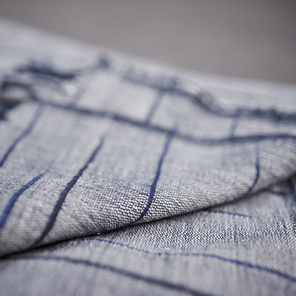 Handwoven cotton scarves from Ethiopia- Deep Blue - [product-type] - Inclusive Trade