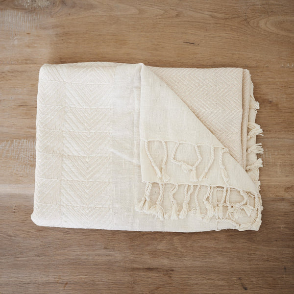 Handwoven throw - Eri Silk & Merino Wool - [product-type] - Inclusive Trade