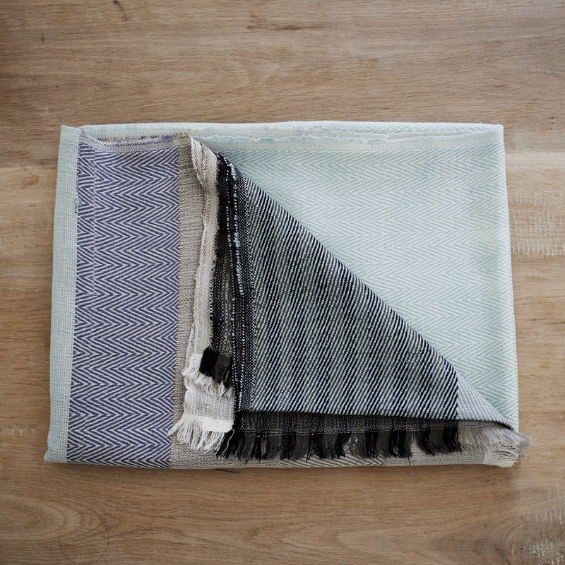 Handwoven throw - Himalayan Merino Wool - Mint Green - [product-type] - Inclusive Trade