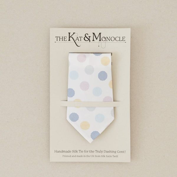Mens Handmade silk ties - Spots - [product-type] - Inclusive Trade