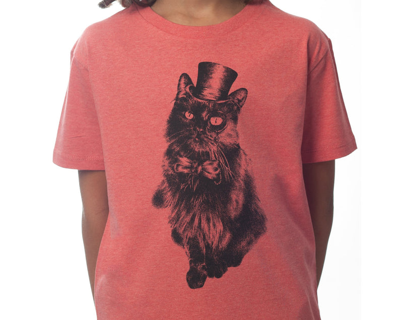 Mr. Bojangles - Kids T-shirt- Mid Heather Red - [product-type] - Inclusive Trade