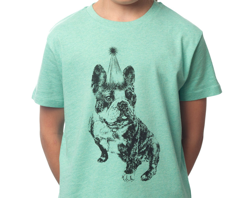 Madame Clio - Kids T-shirt - Mid Heather Green - [product-type] - Inclusive Trade