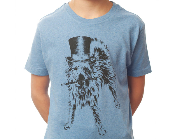The Magical Pooch - Kids T-shirt - Heather Blue - [product-type] - Inclusive Trade