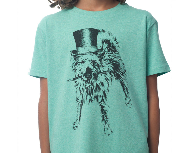 The Magical Pooch - Kids T-shirt - Heather Green - [product-type] - Inclusive Trade