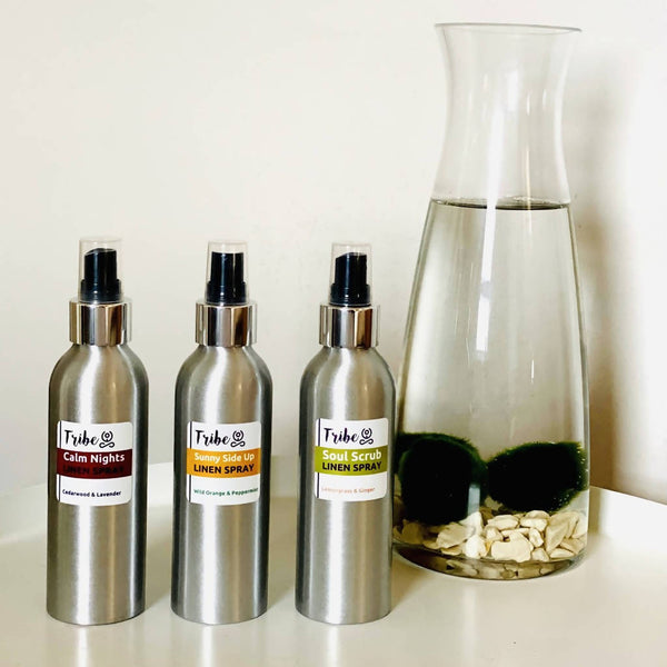 Linen Spray with Pure Essential Oils, 100% Natural