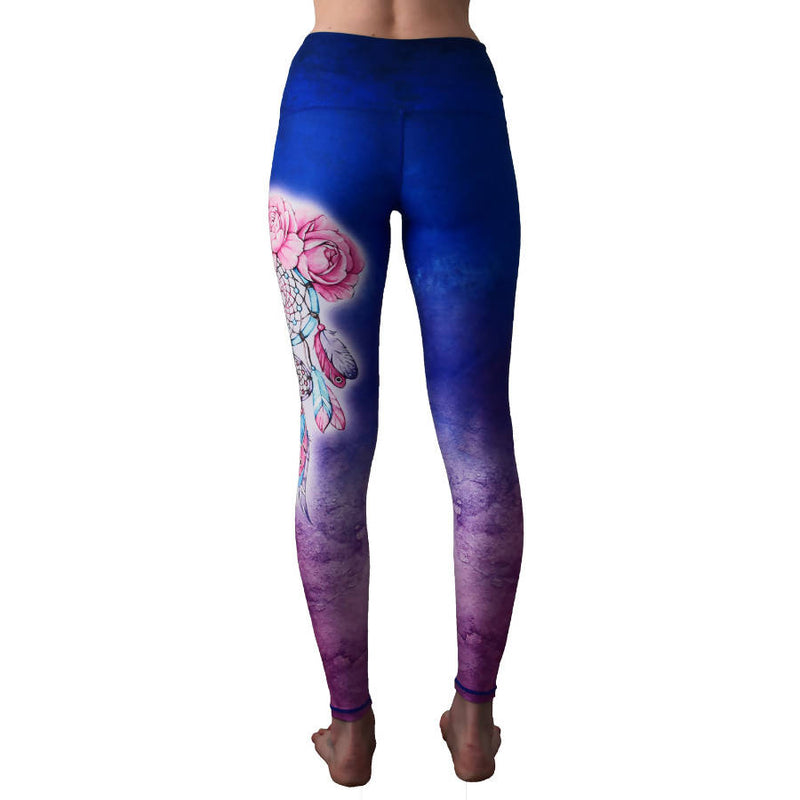 Dream Catcher Yoga Leggings - [product-type] - Inclusive Trade