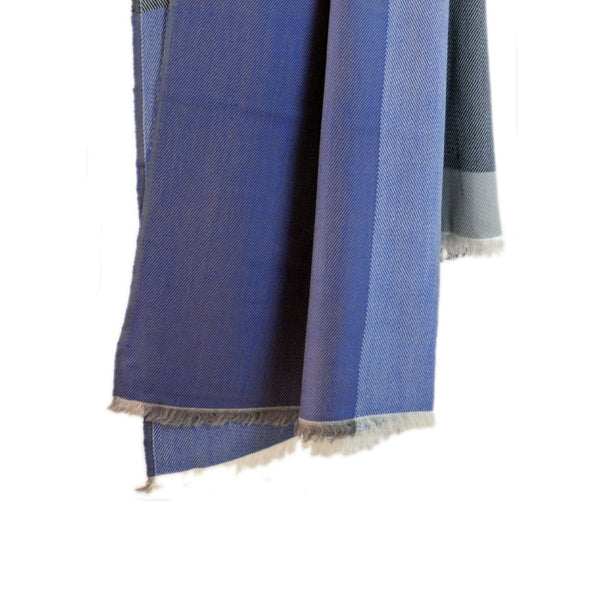 Handwoven throw - Himalayan Merino Wool - Midnight Blue - [product-type] - Inclusive Trade