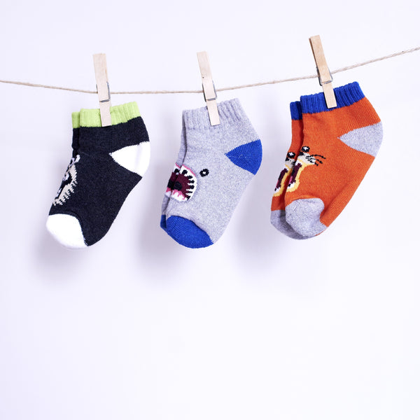 3 Pack Safari Socks - [product-type] - Inclusive Trade