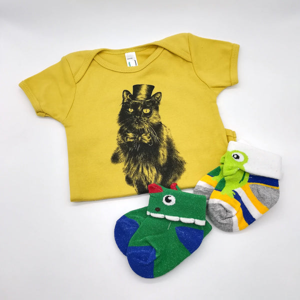 Baby Grow - Mr. Bojangles - stone - [product-type] - Inclusive Trade