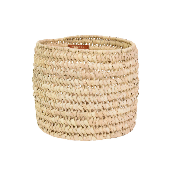 Read Storage Basket - natural palm leaf - [product-type] - Inclusive Trade