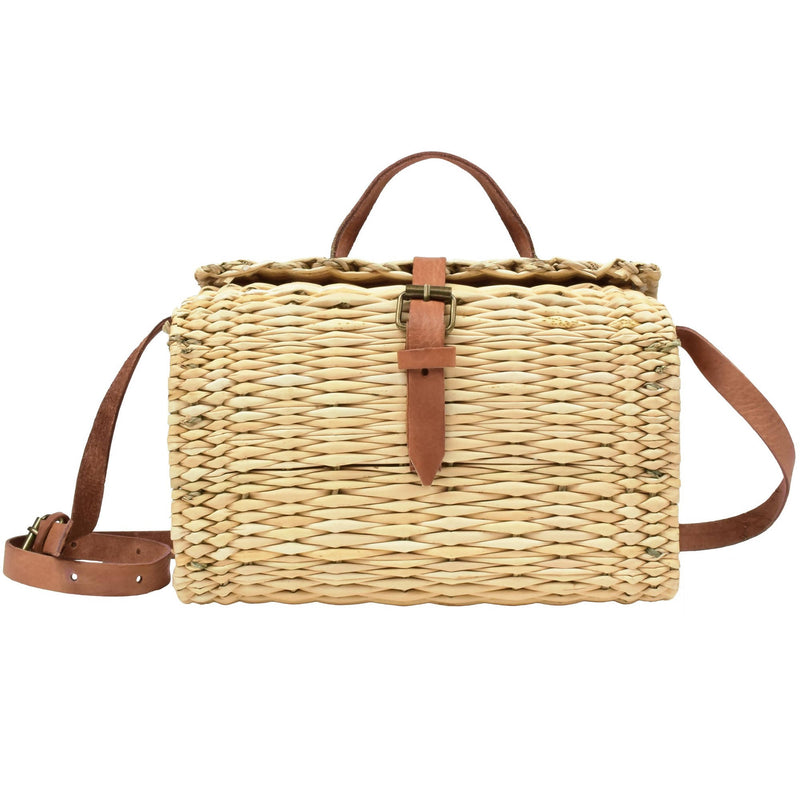 Rattan Satchel Bag - [product-type] - Inclusive Trade