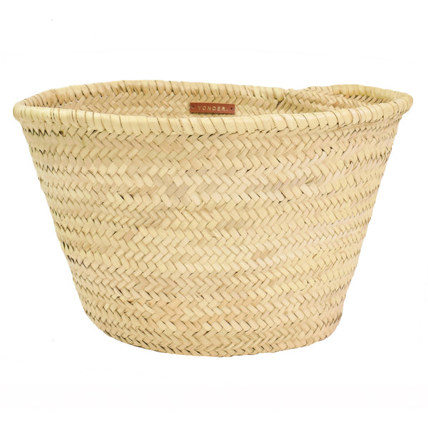 Storage basket - woven palm leaf - [product-type] - Inclusive Trade