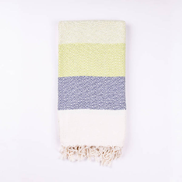 Alinda Green Peshtemal Throw - [product-type] - Inclusive Trade