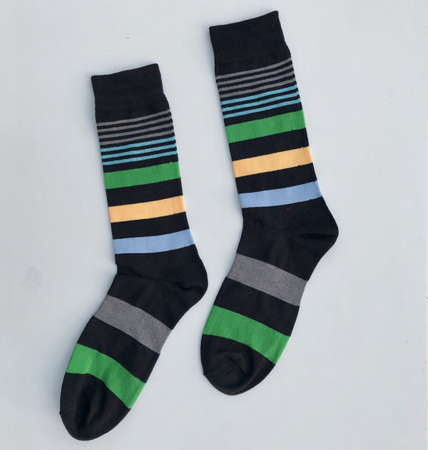 Dress Socks - Bright Days Line - Spicy Stripes - [product-type] - Inclusive Trade