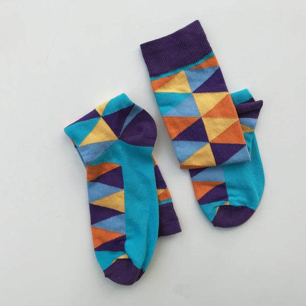 Dress Socks - Bright Days Line - Fun Geometry - [product-type] - Inclusive Trade
