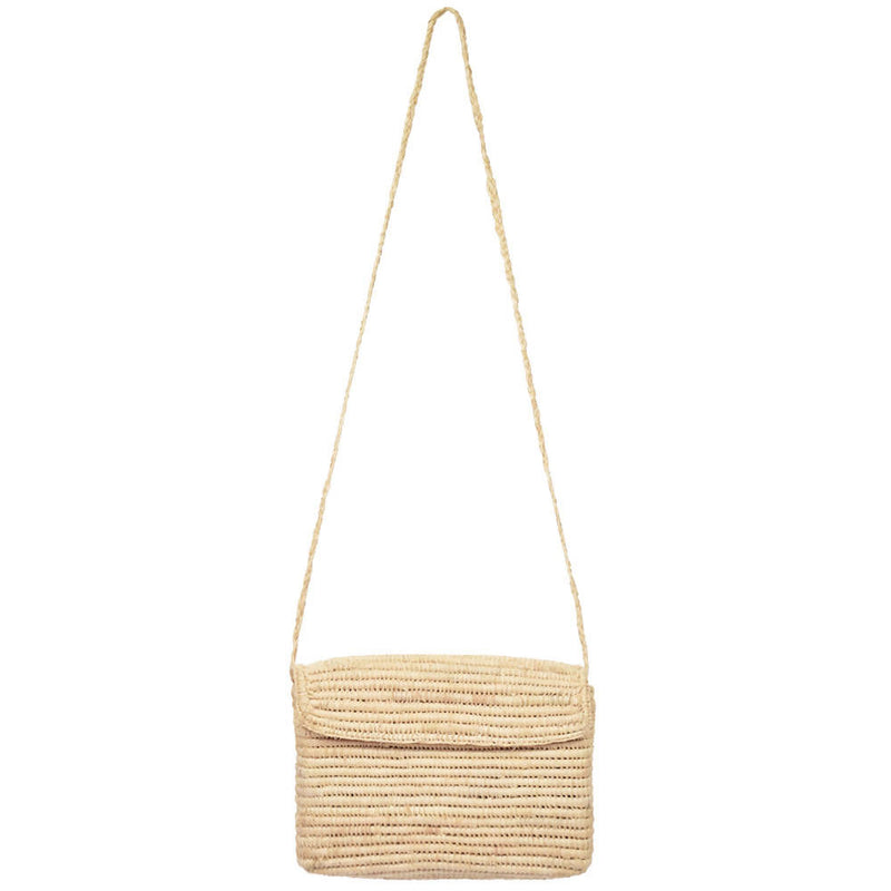 Raffia Cross Body Box Bag - small - [product-type] - Inclusive Trade