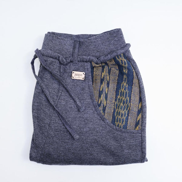 Camden Joggers - Loungewear with Vintage Detail- Blue/Yellow - [product-type] - Inclusive Trade