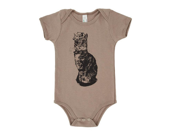 Baby Grow - Monsieur Bartholomew - Stone - [product-type] - Inclusive Trade
